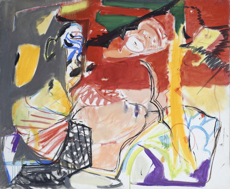 Edmond Boissonnet - Ciel tourmenté (1964)