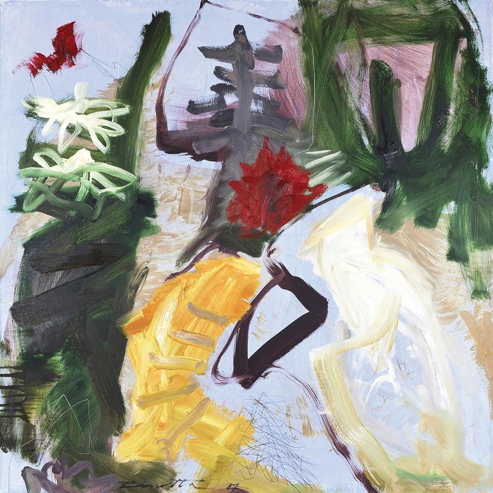 Daniel Pirrotta - Mouvement d'Automne - 2007:2010 - 100X100cm, huile sur toile