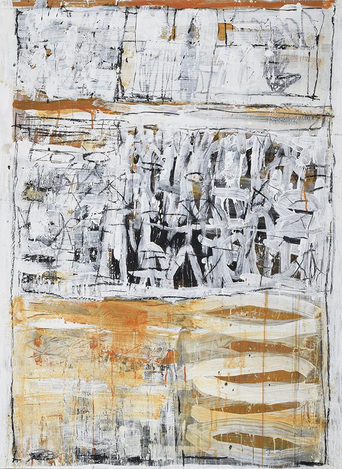 Philippe de Larour - Sans titre - 130 X 97 cm