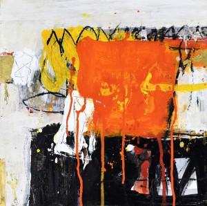 Philippe de Latour - Sans titre - 40 X 40 cm
