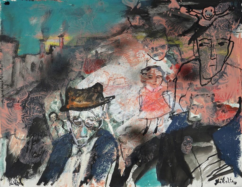 """""""Un homme bien ordinaire"""" - 50 X 65 cm - 2009"""