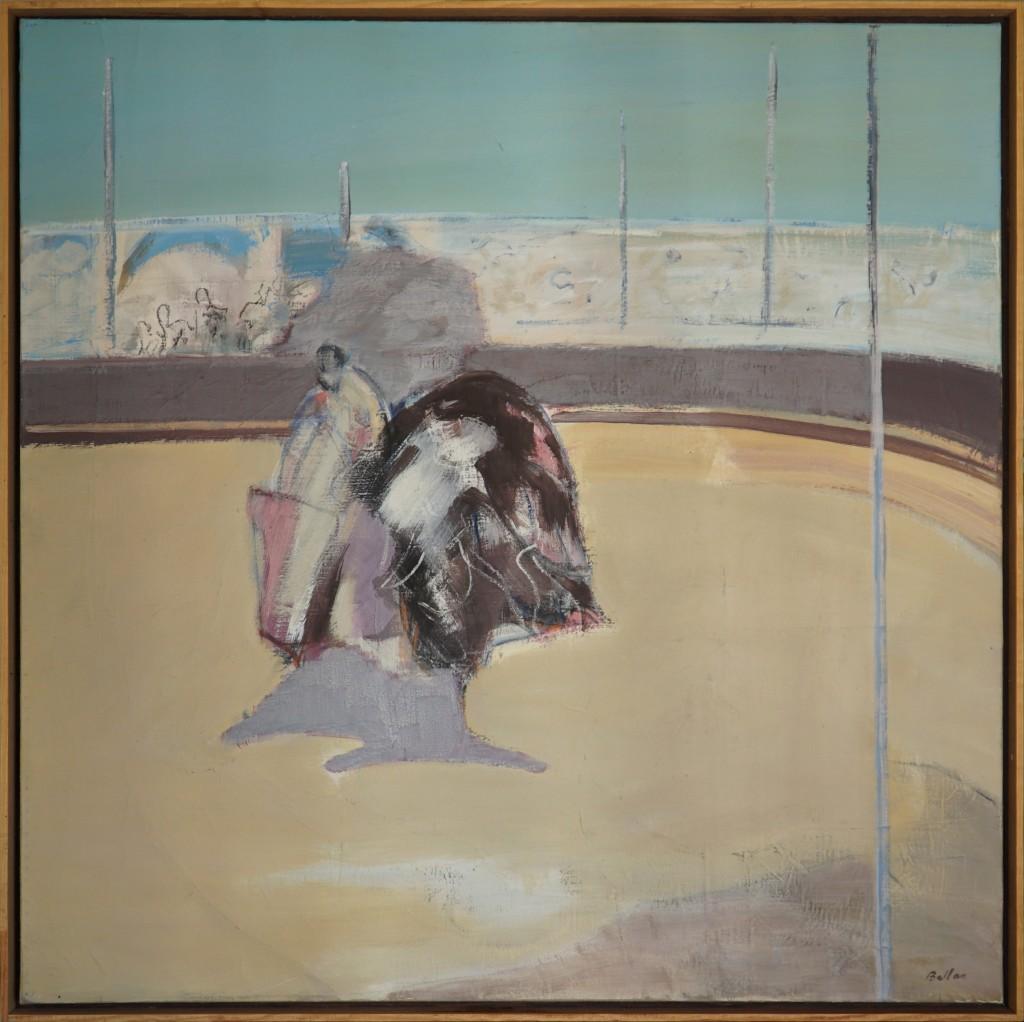 Claude BELLAN - Plein soleil - huile sur toile - 112 x 100 cm – 1983