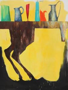 Florence REYMOND – Hommage à Brueghel – huile sur toile – 2016 –116 x 156 cm